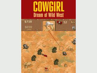 Als Cowgirl schwingen Sie das Lasso und üben Ihre Fangkünste