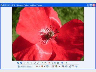 Bildbearbeitungsfunktionen direkt im Windows Bild- und Faxbetrachter nutzen.
