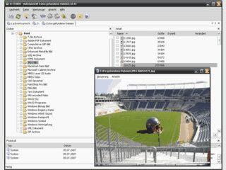Software zur Rettung und Wiederherstellung von Daten auf beliebigen Medien.