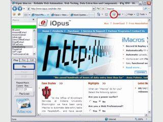 Makro-Utilitie zur Automatisierung des Internet Explorers.