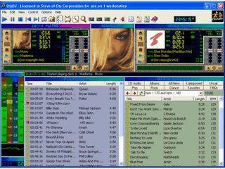 Komplexe, leicht unübersichtliche Software für DJs mit Webradio-Funkitonen.