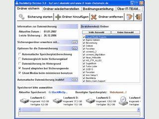 Datensicherung auf beliebige Ziellaufwerke ohne Komprimierung oder ähnliches