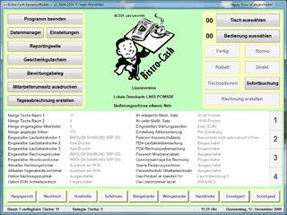 Gastronomie Kassensoftware. Download enthält eine ISO-Image Datei!