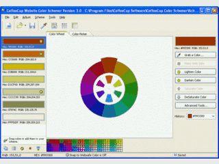 Zusammenstellen von Farbschemen für die Verwendung auf Webseiten
