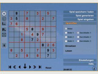 Erheblich eingeschränkte Shareware eines in Flash erstellten Sudoku-Spiels.