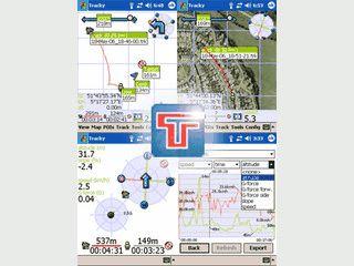 Navigationssoftware für Outdoor-Aktivitäten wie Rad- und Skifahren, Wandern usw.