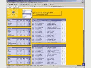 MS Excel Tabelle mit Informationen, Tippspiel und Ergebnisverwaltung zur WM2006