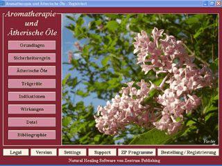 Informationen über Aromatherapie, ätherische Öle usw.