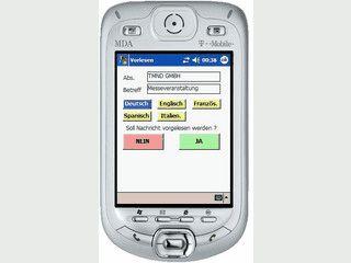 Neue SMS und Emails auf dem Handy mit Windows Mobile vorlesen lassen
