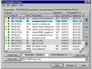 Surfen über anonyme Proxys macht Sie anonym.