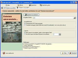 DXF Dateien reparieren und Linieninformationen in eine Textdatei extrahieren.