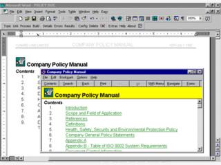 Umfangreicher Editor mit dem sich Windows Hilfedateien erstellen lassen.