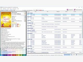 Bücherverwaltung für Leseratten mit umfangreichen Funktionen.