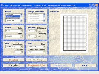 Druck Millimeterpapier, Hefte, Notenblätter, etc. im Hoch- und Querformat