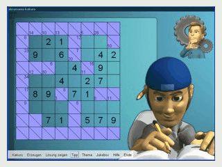 Ein Denkspiel, das ein wenig an Sudoku erinnert.