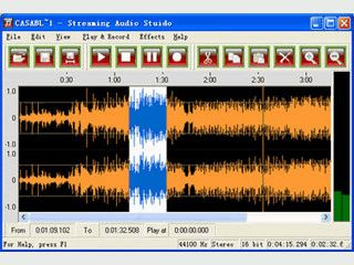 Streaming Audio Studio: Streaming Audio Recorder, Editor and Converter.