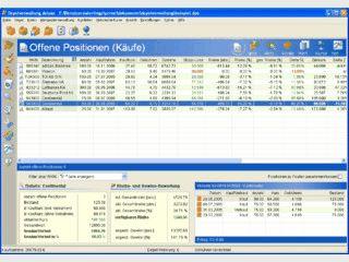 Software zur Depotverwaltung mit Wertpapierdatenbank, Kursabruf usw.