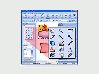 Sehr umfangreiches Tool um Screenshot zu erstellen und Texte zu kopieren.