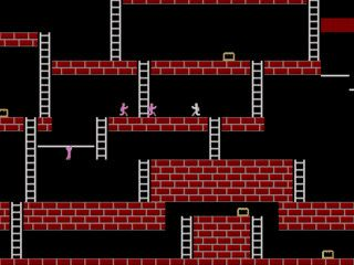 Remake des Arcadeklassikers Loade Runner.