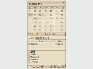 Aufgabenplaner und Kalender