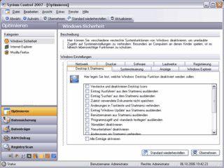 Einstellungen von Windows und Anwendungen sichern und optimieren.