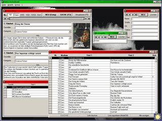 Video-Film-Datenbank mit Verleihfunktion.