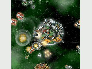 Beschützen Sie die Erde vor angreifenden Raumschiffen.