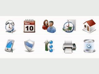 Die Vollversion bietet über 1.100 Icons im Vista Stil für Programmierer.