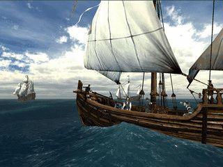 Erfahren Sie die Faszination der ersten Reise von Columbus, dargestellt in 3D.