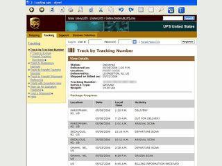 Automatische Sendungsverfolgung für DHL, FEDEX, UPS und USPS.