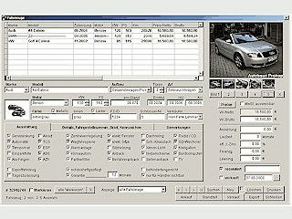 Software für den Handel mit Neu- und Gebrauchtfahrzeugen.