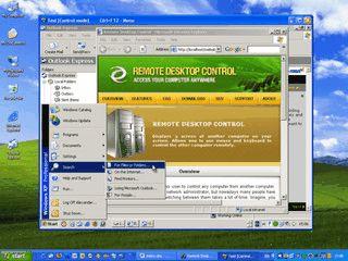 Client/Server basierte Lösung zur Remote-Administration.