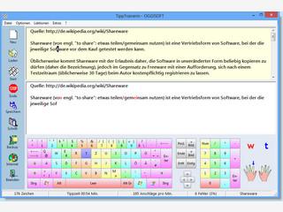 Im 1-10 Fingersystem schnell und fehlerfrei schreiben lernen.