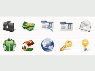 Eine Sammlung mit Icons für Webdesigner.