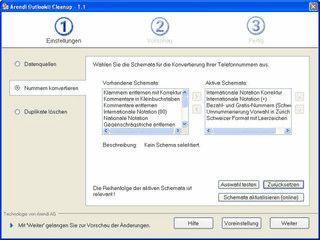 Automatische Konvertierung aller Nummern in MS Outlook.