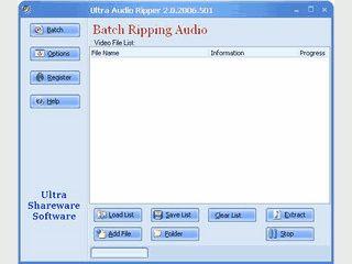 Konvertiert die Audio-Spur aus Videodateien in eine Audiodatei.