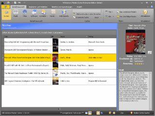Medienverwaltung für Bücher, CDs, DVDs usw.