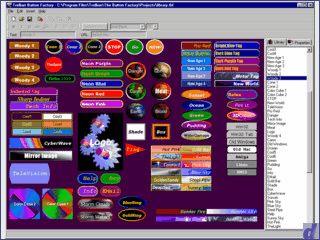 Erstellung von Buttons und Bannern für die eigene Homepage.