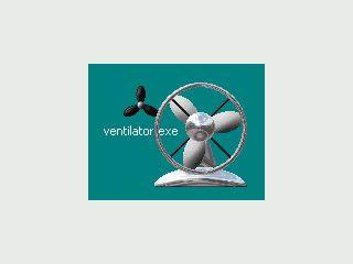 Ein virtueller Ventilator den Sie sich auf den Desktop stellen können.
