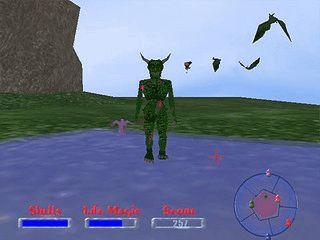 Ein 3D First Person Shooter mit Anleihen bei Arcadespielen.