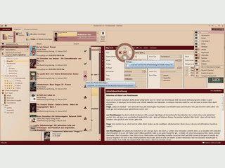 Buchverwaltung mit automatischer Datenübernahme aus Onlinequellen.