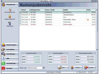 Software für Frei- und Nebenberufler zur einfachen Buchhaltung.