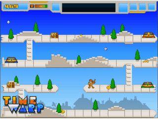 Klassisches Jump'n Run, das als Flash-Game programmiert ist.