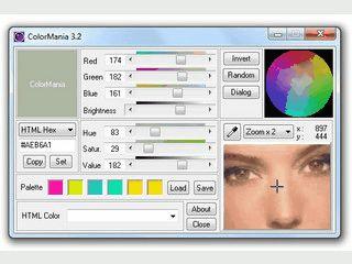 Colorpicker der jede Farbe vom Desktop erfassen kann.