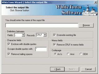 Konvertierung von DBF-Datenbanken in CSV-Dateien ohne zusätzliche Programme