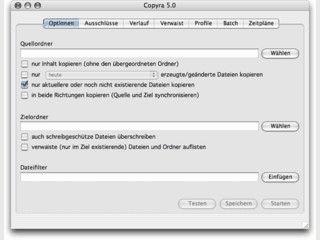 Tool zur Synchronisierung und Anfertigung von Backups
