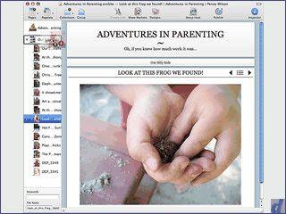 Template-basierter Editor zum Erstellen von Webseiten, Blogs, Photoalben usw.