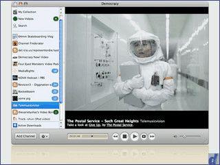 Player für Online-Videos und Video Podcasts mit umfangreicher Channel-Liste.