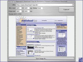Geniales Werkzeug um Screenshots von Webseiten zu erstellen.