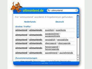 Schnelle Abfrage von deutsch/niederländischen Vokabeln via Widget.